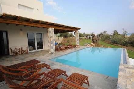 Scorcio della piscina: Piscina in stile in stile Mediterraneo di CARLO CHIAPPANI  interior designer