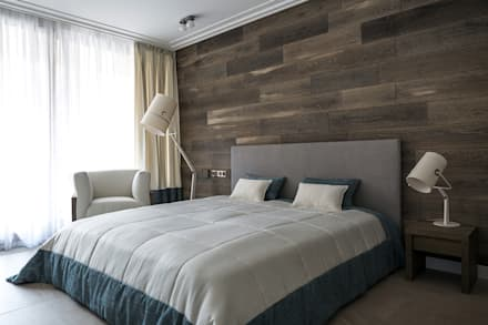 scandinavian Bedroom by  Aleksandr Zhydkov Architect