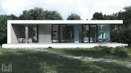 Prefabricated House: Дома в . Автор –  Aleksandr Zhydkov Architect