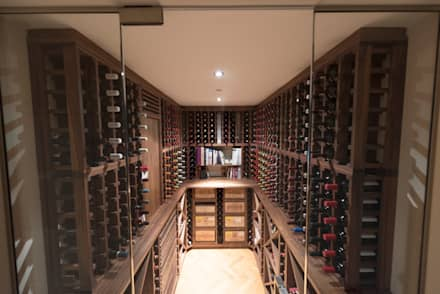 classic Wine cellar by Tim Wood Limited