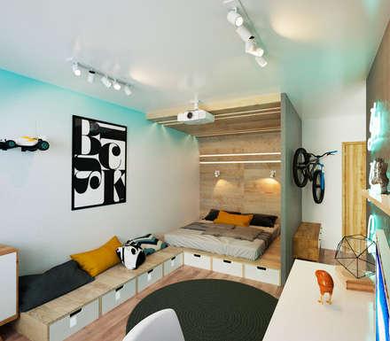 KEFIR HOME: Спальни в . Автор – IK-architects