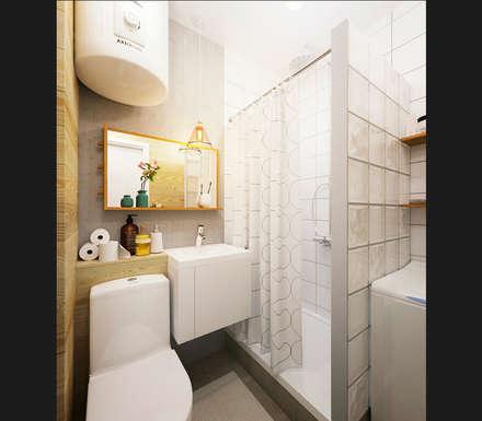 KEFIR HOME: Ванные комнаты в . Автор – IK-architects