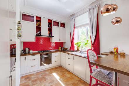 Яркий, сложный, всеми любимый Ход Конем: Кухни в . Автор – U-Style design studio