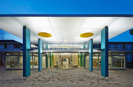 Rivers Academy West London - 3:  Schools by Jonathan Clark Architects
