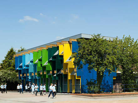 Longford Community School - New Library - 4:  Schools by Jonathan Clark Architects