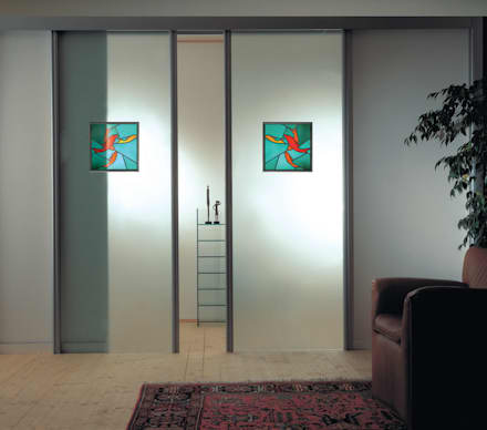 Glass doors by ALM Design