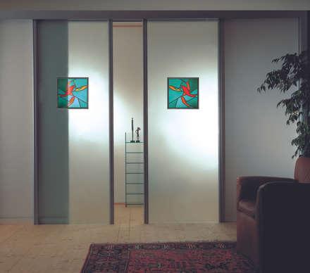 Vita Glass Doors:  Glass doors by ALM Design