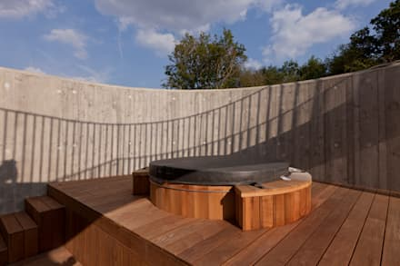 rustic Pool by homify