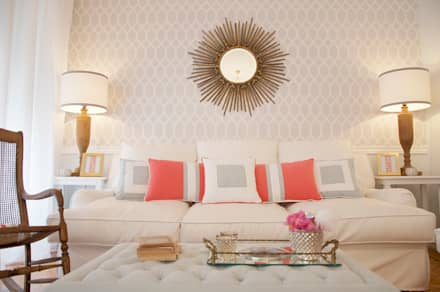 mediterranean Living room by Catarina Batista Arquitectura e Interiores