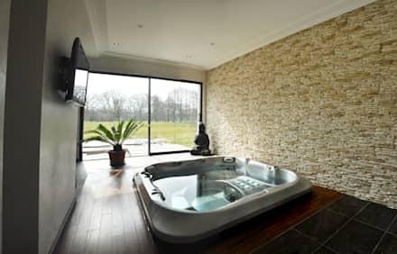 modern Spa by [ADitude*] Architecture