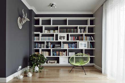 Livings de estilo escandinavo por AvoCADo