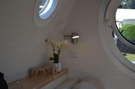scandinavian Bedroom by Armadilla Pods