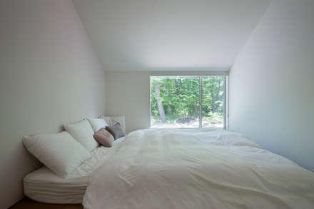 .: 株式会社 直井建築設計事務所が手掛けた寝室です。