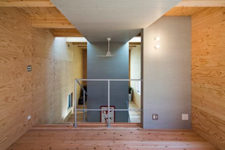 寝室からの眺め: アトリエセッテン一級建築士事務所が手掛けた寝室です。