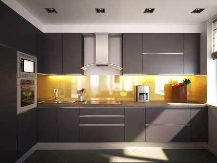Nhà bếp by Polovets design studio
