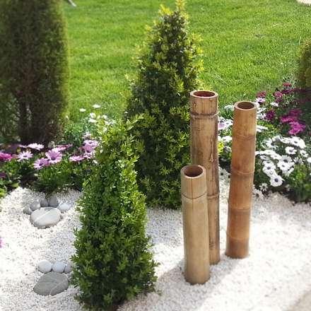 abelia peyzaj - çeşme: modern tarz Bahçe