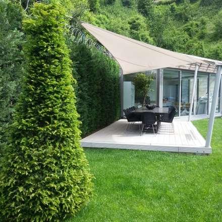 abelia peyzaj – bodrum: modern tarz Bahçe