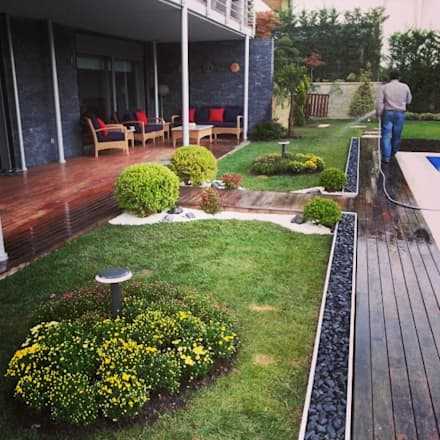 abelia peyzaj – mayavera 10: modern tarz Bahçe
