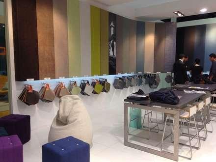 Diseño stand Crevin Intelligent Fabrics: Ferias de estilo  de Morgui Súnico