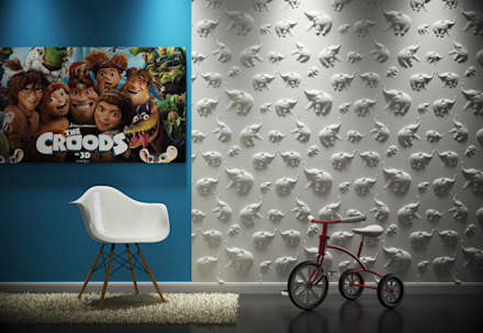 3d Wandpaneele:  Babyzimmer von Loft Design System Deutschland