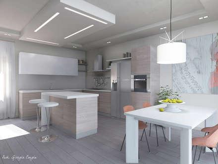 Progetto arredamento di interni: Cucina in stile in stile Mediterraneo di Arch. Giorgia Congiu