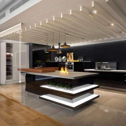 Кухня в стиле Хай-тек: Кухни в . Автор - Sweet Home Design