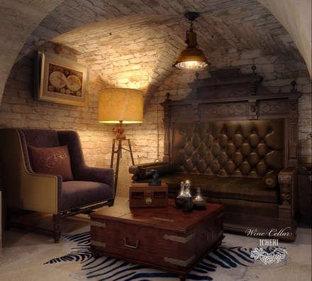 Винный погреб в старинном особняке: Винные погребы в . Автор – Sweet Home Design