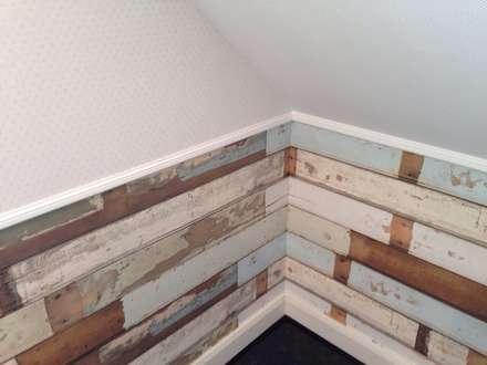 Holzimitation : ausgefallene Kinderzimmer von Schoo GmbH