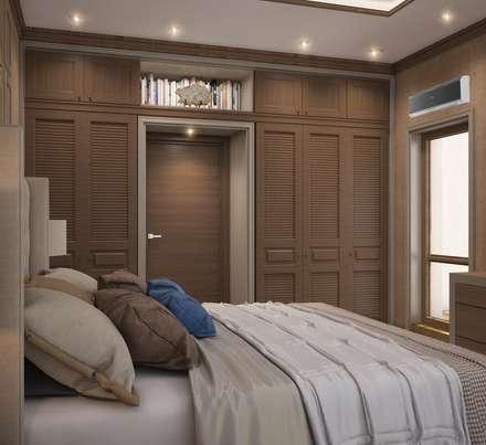 Квартира в В.Пышме: Спальни в . Автор – E_interior