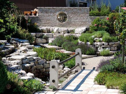SOL Ausstellungsgarten Grenchen: mediterraner Garten von SOL AG