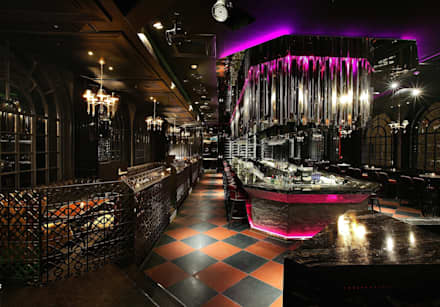 DISTRICT_Glam(Lounge): CHIHO&PARTNERS의  바 & 카페