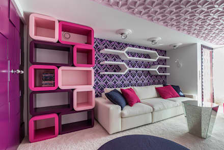 eclectic Nursery/kid's room by Belimov-Gushchin Andrey