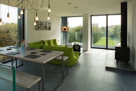 Grillagh Water: eclectic Living room by Patrick Bradley Architects