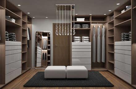 Vestidores y closets modernos: ideas | homify