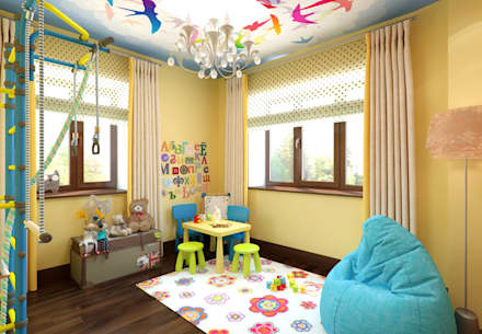 eclectic Nursery/kid's room by K-Group