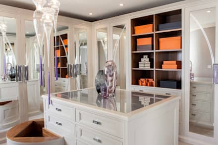Luxurious Family Living: Modern Dressing Room By WN Interiors Of Poole In  Dorset