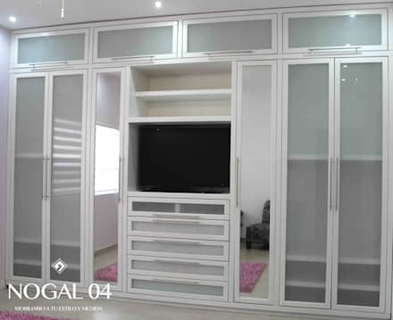 غرفة الملابس تنفيذ Nogal 04