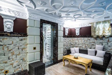 Интерьер загородного дома в стиле Эклектика: Бассейн в . Автор – Belimov-Gushchin Andrey