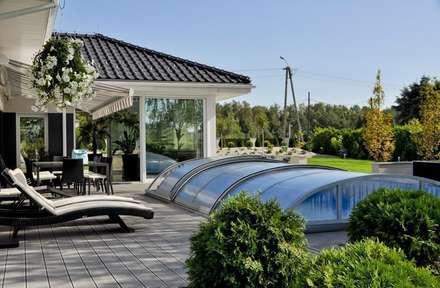 Piscinas de jardín de estilo  por Abakon sp. z o.o. spółka komandytowa