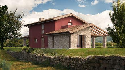 Villa Reana: Case in stile in stile Classico di DomusGaia