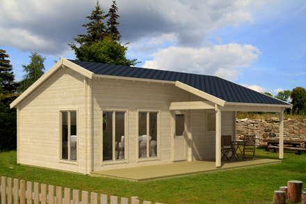 Eufrat - Ferienhaus aus Holz : moderne Häuser von Gartenhaus2000 GmbH