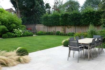 Large family garden: modern Garden by Garden Arts