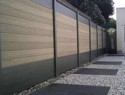 Palissade IdéAl - Deck-linéa: Jardin de style de style Moderne par Deck-linéa