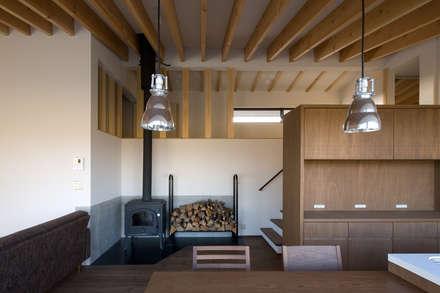 写真家の家: 濱田修建築研究所が手掛けたダイニングです。