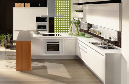 DanKuchen keukenimpressies: moderne Keuken door DanKüchen Studio Hengelo