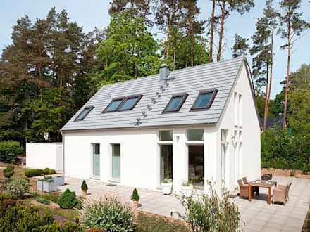 minimalistic Houses by Müllers Büro
