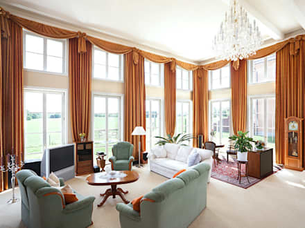 HAUS WANDLITZ: Klassische Wohnzimmer Von Müllers Büro