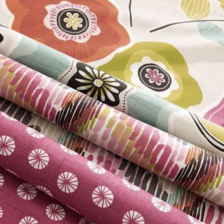 Clarke and Clarke - Cariba Fabric Collection:  Windows  by Curtains Made Simple