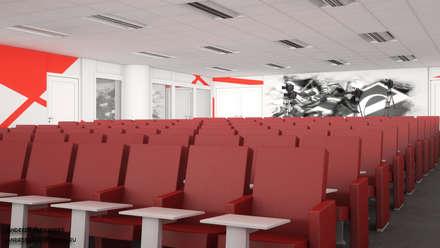 Пресс центр на стадионе: Конференц-центры в . Автор – Андреев Александр