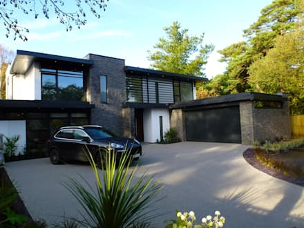 Nairn road canford cliffs modern houses by david james architects partners ltd